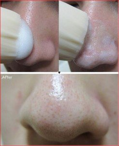 brosse visage